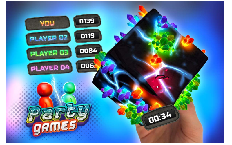 Merge Cube party games