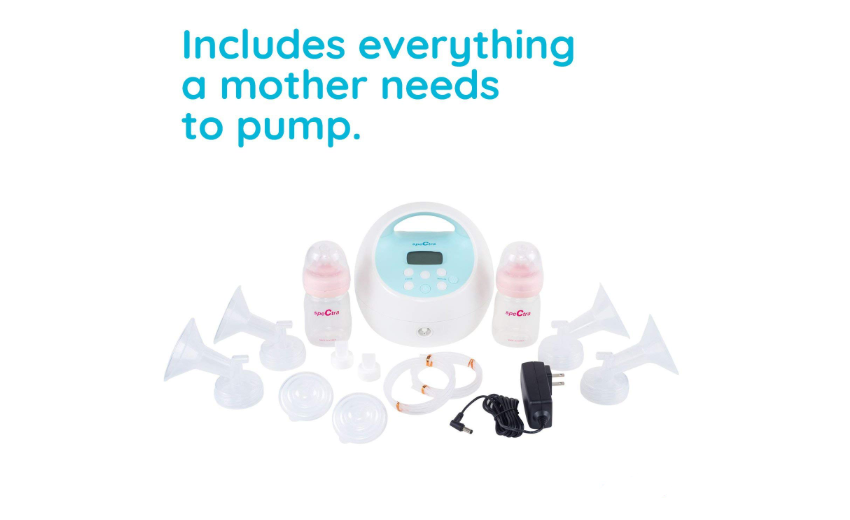 Spectra Baby Breast Pump USA - S1 Plus accessories