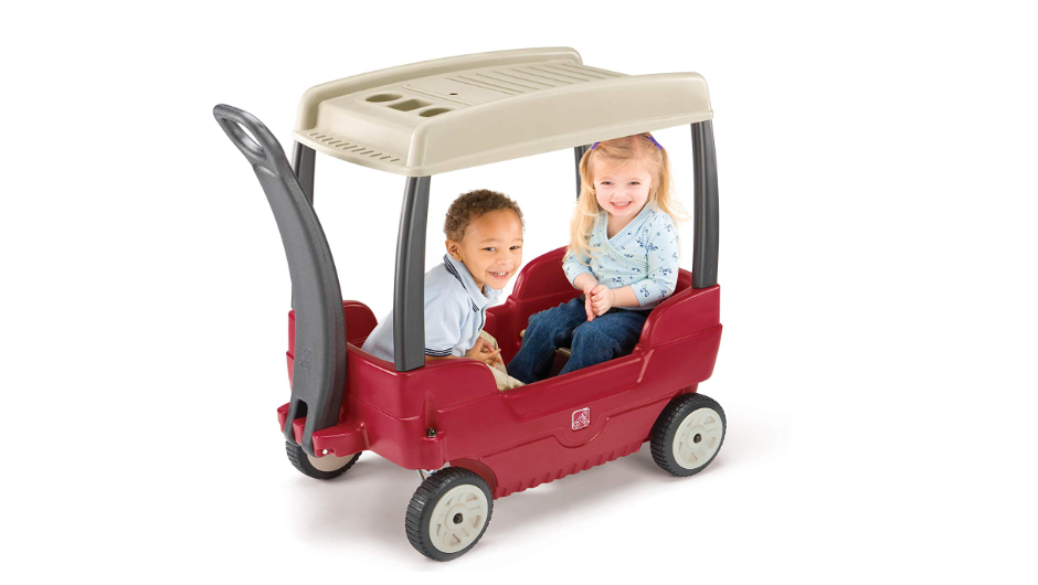 Step2 Canopy Wagon kids