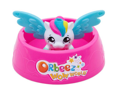 Orbeez Wow World Wowzer Surprise Magical Pets feature two spin keys.
