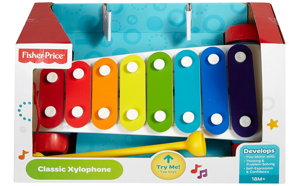Fisher-Price Classic Xylophone packaging