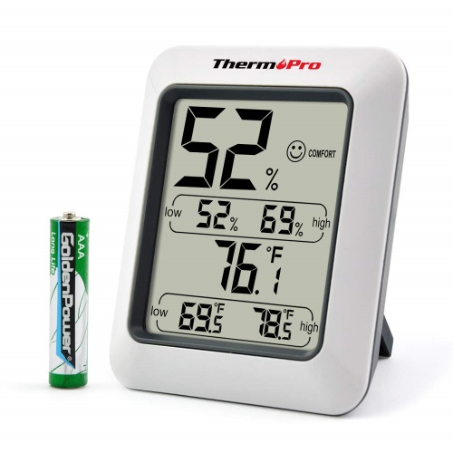 2. ThermoPro TP50 Digital Hygrometer