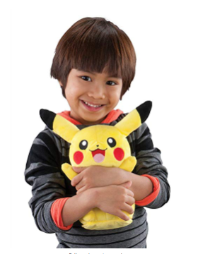 The TOMY Pokémon My Friend Pikachu has 10 sounds and phrases.
