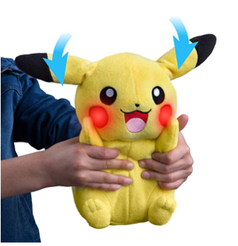 The TOMY Pokémon My Friend Pikachu is suitable for kids ages 3 and up.