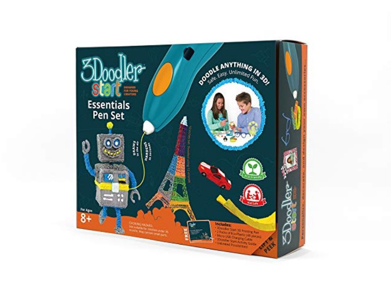 3Doodler 3D pen packaging
