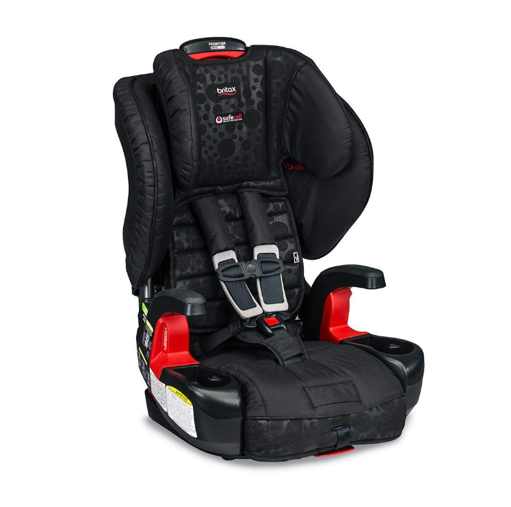 The Britax Frontier ClickTight Booster Car Seat features easy installation.