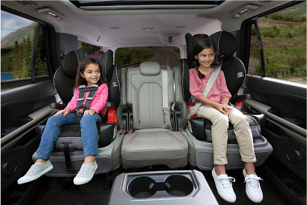 Britax Frontier ClickTight Booster Car Seat Grows With Your Child