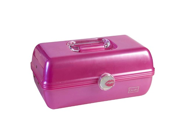 Caboodles On-The-Go-Girl is a molded classic case.