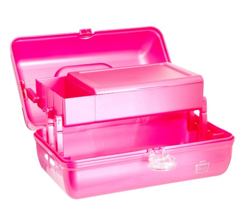 Caboodles On-The-Go-Girl has a deep storage space.