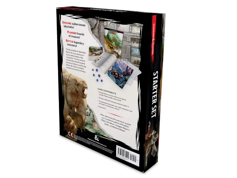 Dungeons and Dragons started set back