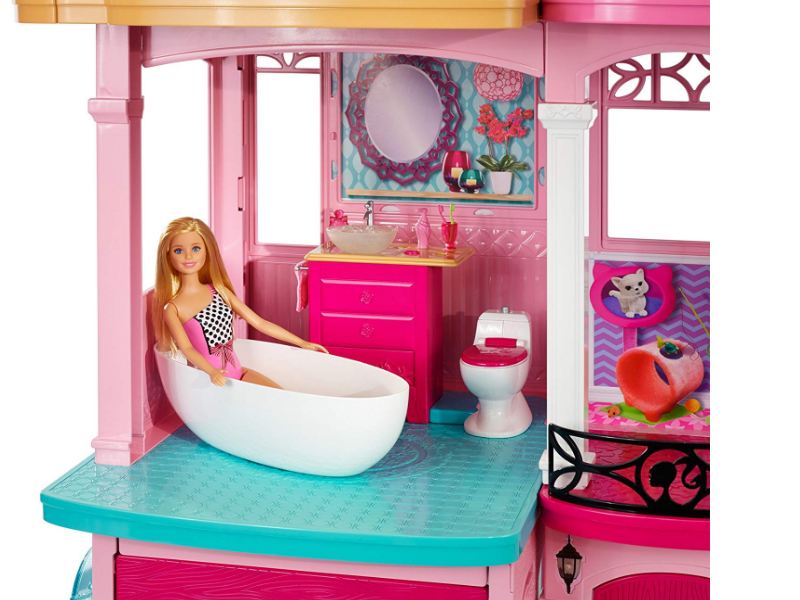 Barbie Dreamhouse play