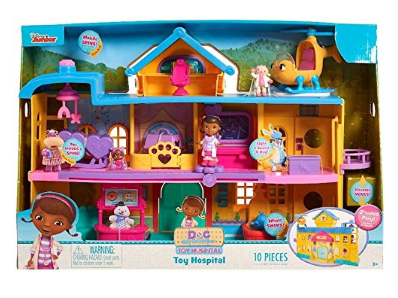 Just Play Doc McStuffins Toy Hospital Playset packaging