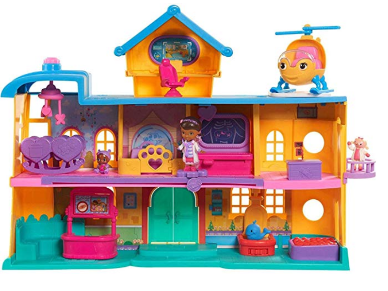 Just Play Doc McStuffins Toy Hospital Playset front