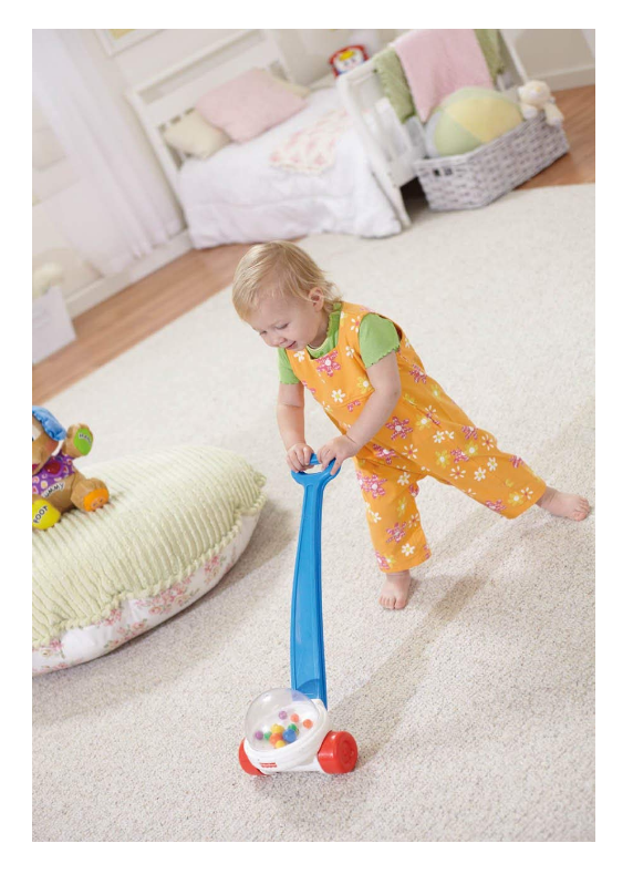 The Fisher Price Corn Popper features colorful balls.