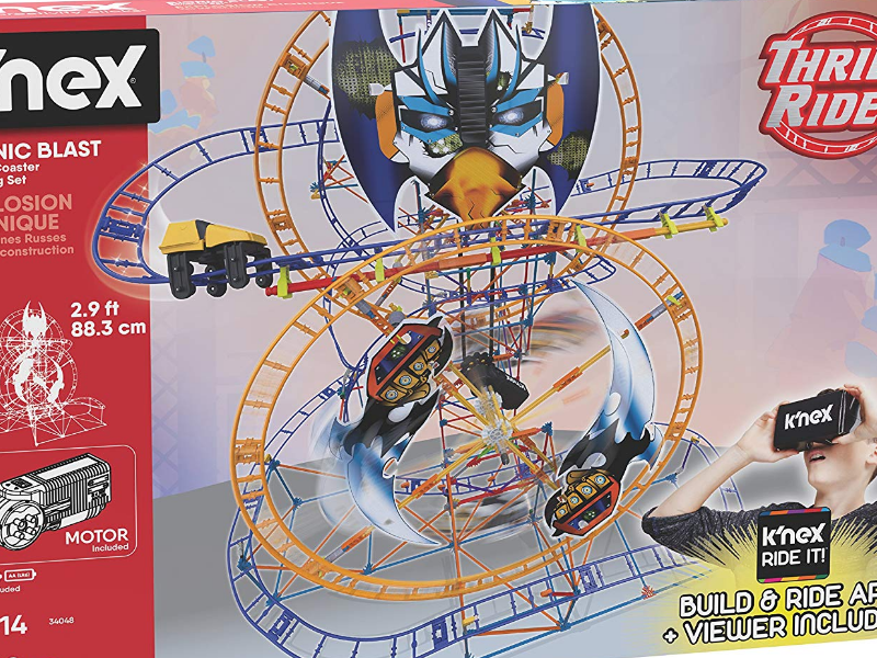 K'NEX Thrill Rides Bionic Blast Roller Coaster packaging