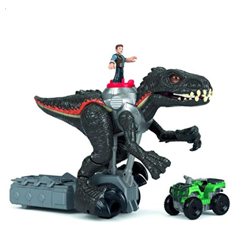 Fisher-Price Imaginext Jurassic Park Walking Indoraptor mode 2