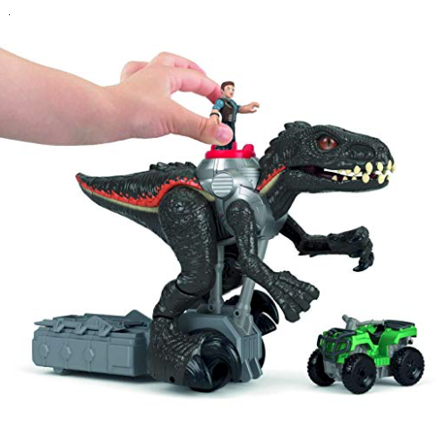 Fisher-Price Imaginext Jurassic Park Walking Indoraptor mode 3