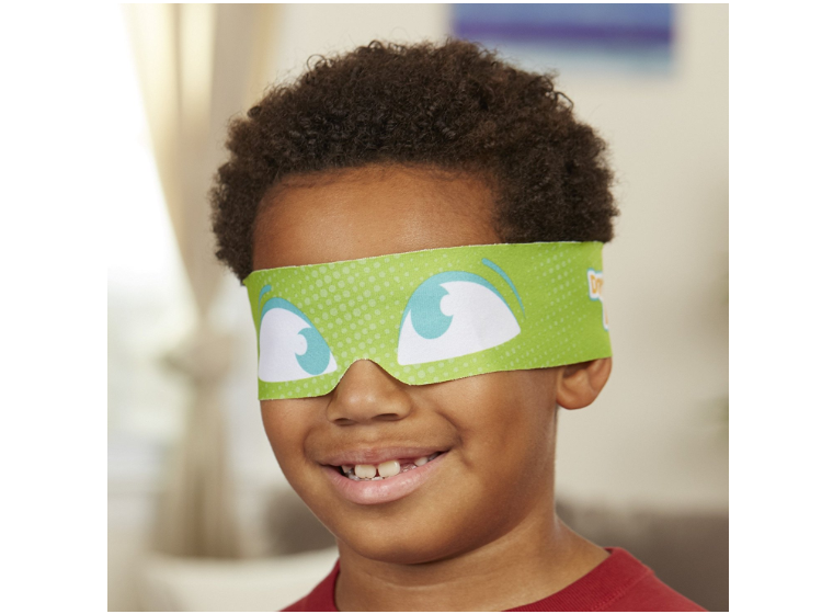 Don't Step In It! funny blindfold accessory