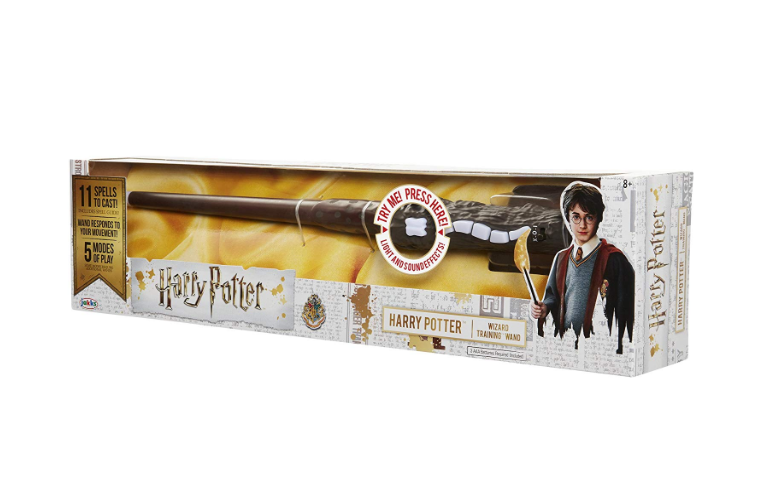 Harry Potter Wizard Training Wand packaging