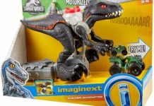 Fisher-Price Imaginext Jurassic Park Walking Indoraptor detailed review