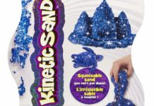 Our review of the Kinetic Sand Blue Sapphire Shimmer Sand