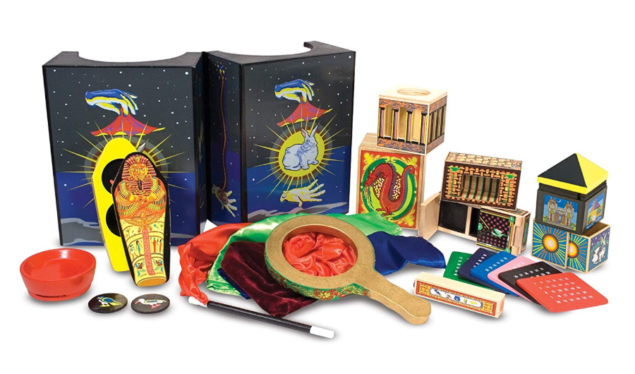 Melissa and Doug Deluxe Magic Set complete