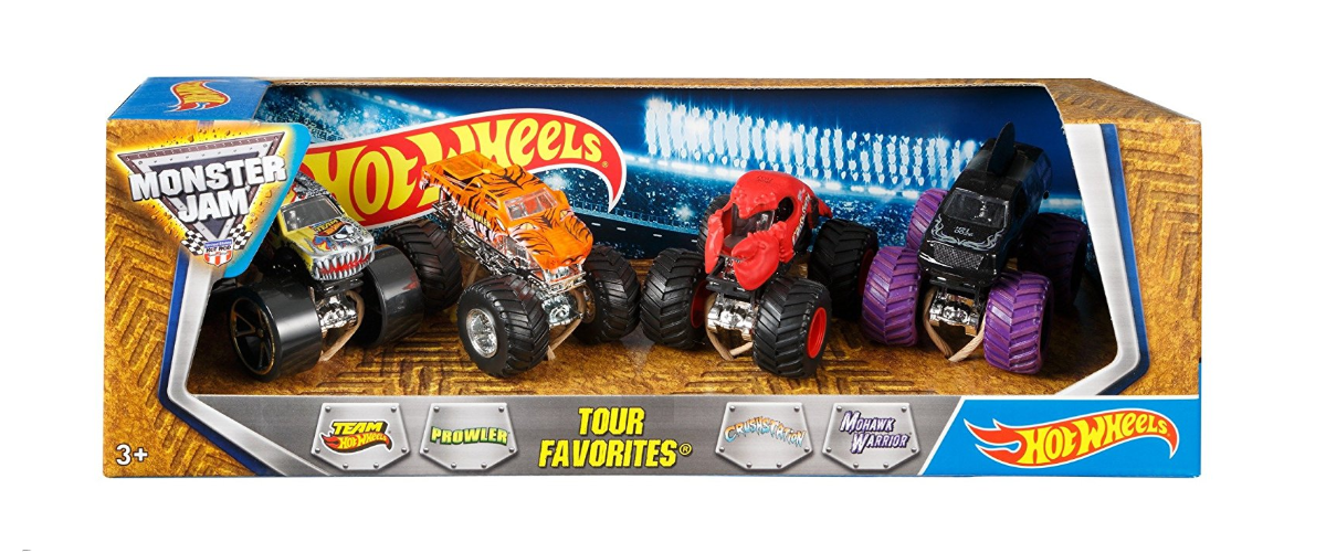 Hot Wheels Monster Jam package