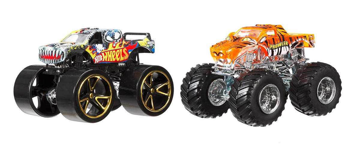 Hot Wheels Monster Jam black & orange
