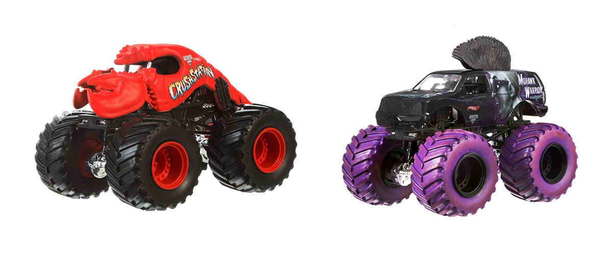 Hot Wheels Monster Jam purple & red