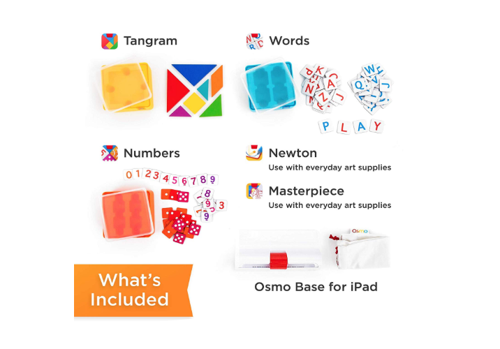 Osmo Genius Kit featuers different types of games
