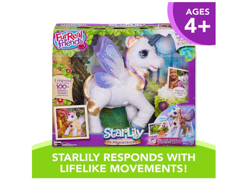 FurReal StarLily, My Magical Unicorn packaging