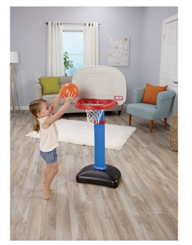 The Little Tikes EasyScore Basketball Set can help kids develop social skills.