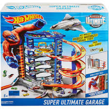 Hot Wheels Super Ultimate Garage in the box