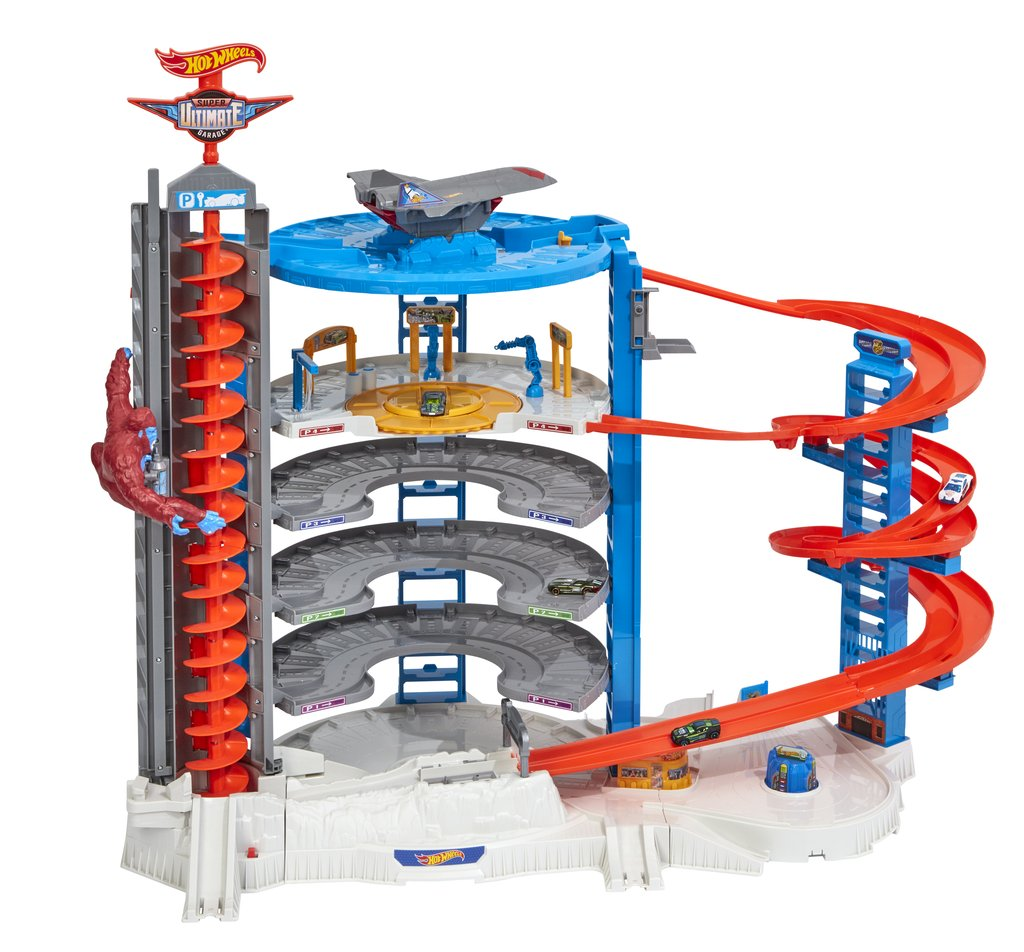 Hot Wheels Super Ultimate Garage is easy to assemble