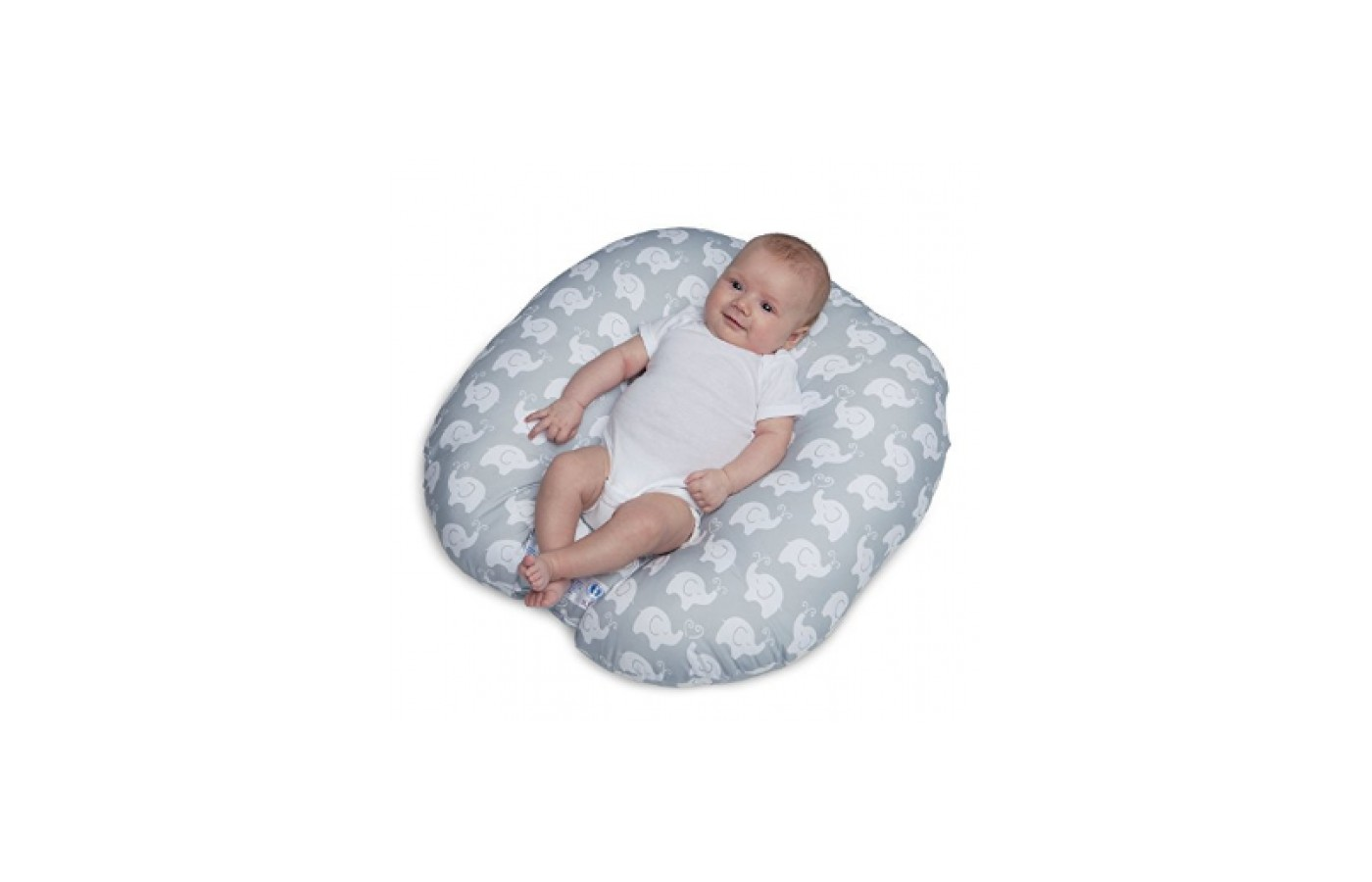 The Boppy Newborn Lounger is a safe & comfy space for a newborn.