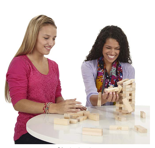 Jenga can be enjoyed by a vast range of age groups