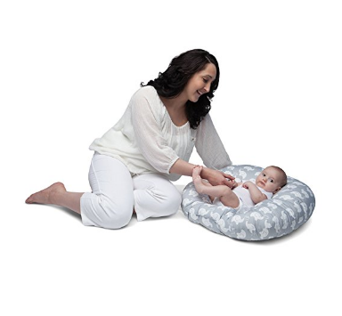 Parents love the Boppy Newborn Lounger.