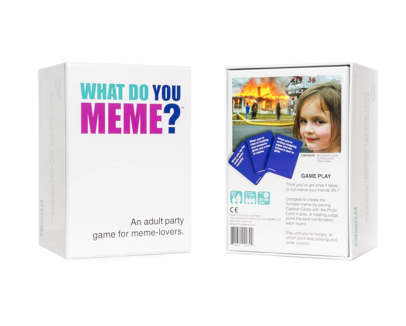 The What Do You Meme? game features the most popular internet memes