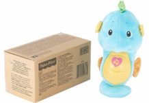 Our review of the popular bedtime toy, the Fisher-Price Soothe & Glow Seahorse.