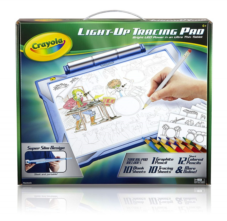 Crayola Light Up Tracing Pad Review A Gift That Sparks Creativity