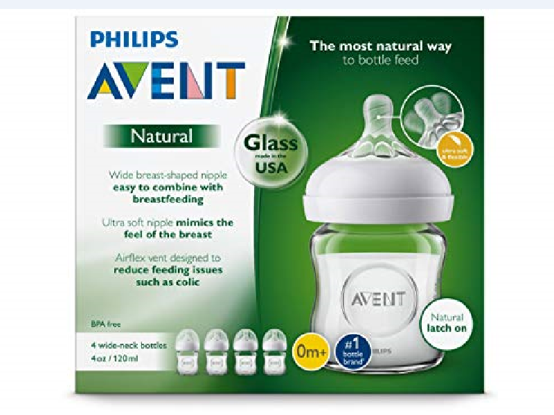 Philips Avent Natural Bottle packaging