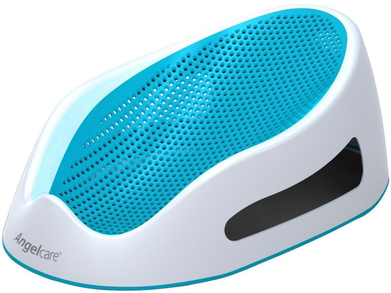 The AngelCare Baby Bath Support has a non-slip surface.