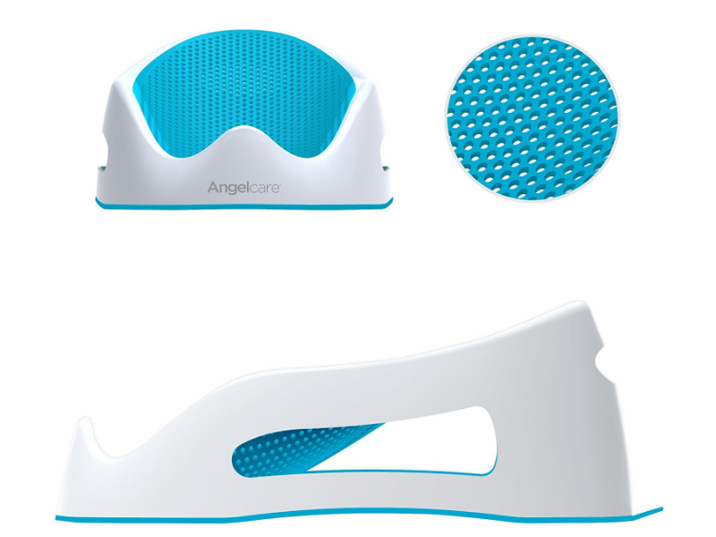 The AngelCare Baby Bath Support  has an ergonomic design for ultimate comfort.