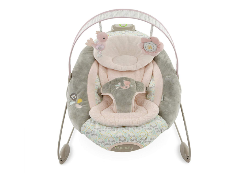 The Ingenuity Smartbounce Automatic Bouncer is a smart baby product.