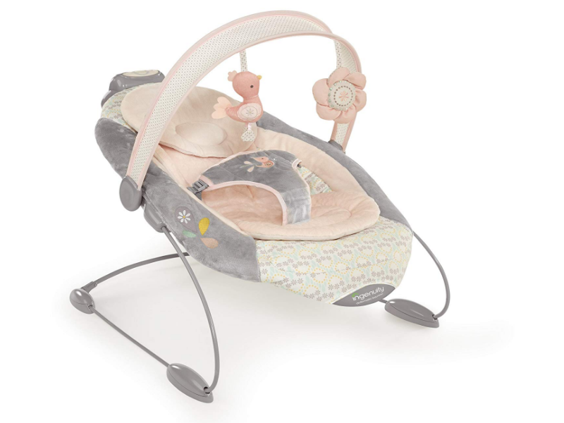 The Ingenuity Smartbounce Automatic Bouncer is sturdy & comfortable.