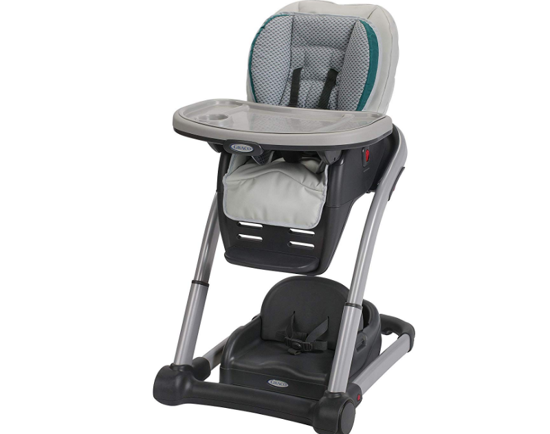 The Graco Blossom Highchair 6-in-1 grows with your child.