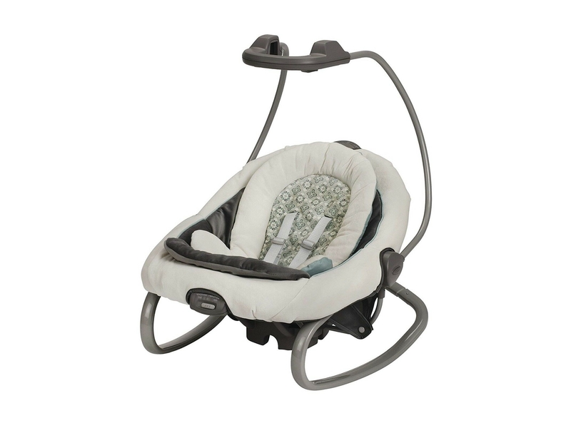 The Graco Duetsoothe removable rocker.