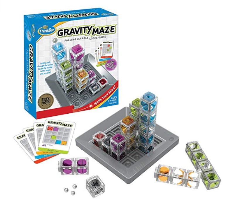 Gravity Maze game components