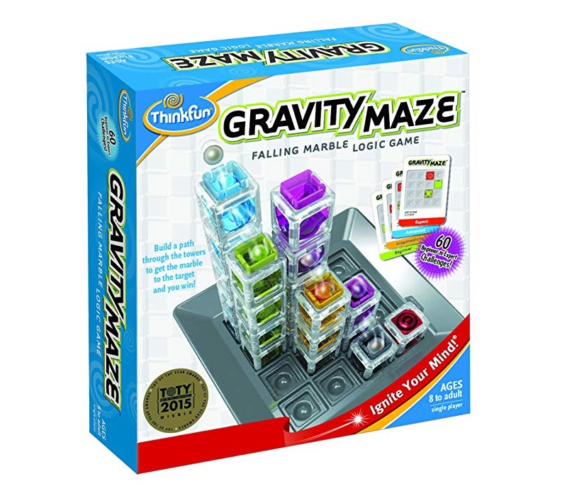 Gravity Maze packaging