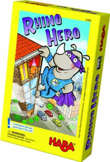 Rhino Hero Stacking Cards